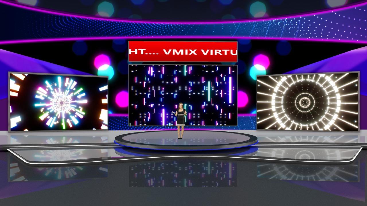 virtual set studio
